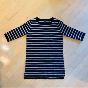 Forever 21 striped knit sweater dress